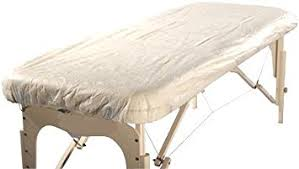 massage table decorative covers amazon com therapist s choice waterproof fitted disposable