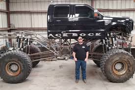monster truck crashes videos reader builds black rock u0027s massive monster