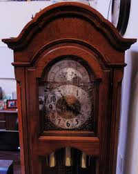 Ridgeway Grandmother Clock Ridgeway Grandfather Clock Vintage 1976 Division Of Howard Miller