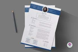 Best Resume Templates Etsy by Two Cv Templates Resume Templates On Thehungryjpeg Com 1444