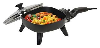 elite cuisine elite cuisine 7 electric skillet black efs 400 best buy