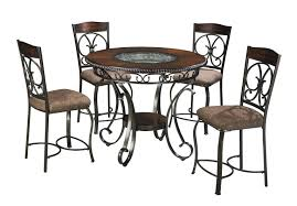 buy ashley furniture glambrey round counter height table set