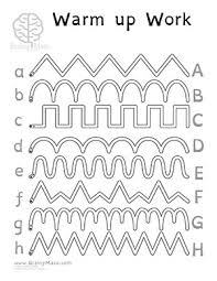 this is a free set of fine motor control worksheets perfect for
