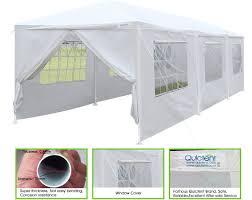 Uk Canopy Tent by Quictent Upgraded Pipes 10 U0027 X 30 U0027 Heavy Duty Canopy Gazebo Wedding