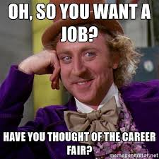 Career Meme - why career fairs are obsolete how we can do better