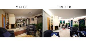 Wohnzimmer Mit Indirekter Beleuchtung Indirekte Beleuchtung Mit Led Vorher U003e Nachher