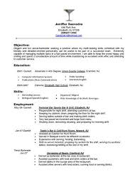 exles of resumes for restaurant 517 best resume images on resume format