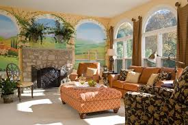 Mediterranean Decorating Ideas For Home by Wonderful Microfiber Chair And Ottoman Decorating Ideas Gallery In