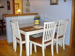 kitchen white dining room sets round dining table for 4 people