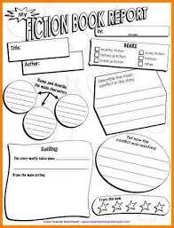 third grade book report template 7 3rd grade book report template invoice exle