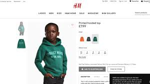 siege social h m h m hoodie retailer apologizes for black child to sell