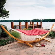 pillow top hammock frontgate