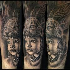 stefano alcantara tattoos family heritage as a aztec warrior