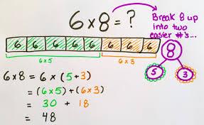 multiplication using distributive property worksheets koogra