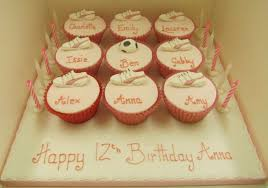 Personalised Cupcakes Cup Cakes Rathbones Bakery Upholland