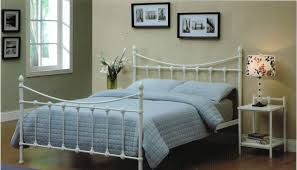 avon metal bed black white beds online