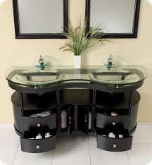 Inexpensive Bathroom Vanities by Fresca 63 Inch Espresso Modern Bathroom Vanity With Mirrors