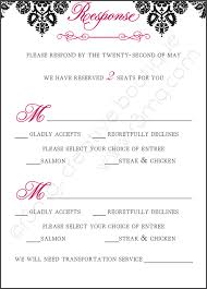 wedding invitation response card wedding invitation response card sunshinebizsolutions