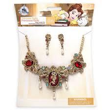 necklace jewellery set images Belle jewelry set shopdisney jpeg