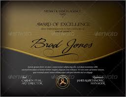 Free Certificate Of Excellence Template Certificate Of Excellence 6 Premium And Free Pdf