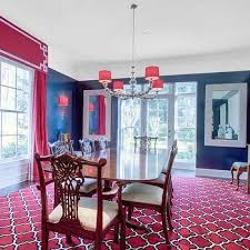 blue dining room ideas pink and blue dining rooms design ideas