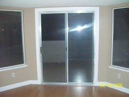 How To Install Interior Door Casing Put Bright White Trim Around Sliding Glass Door For A Finished