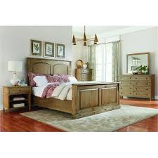 Toffee Brown Rustic Casual  Piece Queen Bedroom Set Savannah - Bedroom sets at rc willey
