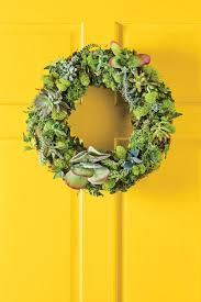 wreath how to make a succulent wreath southern living
