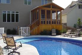 Decks With Attached Gazebos by Make A Splash With Pool Decks And Spa Decks In Des Moines By