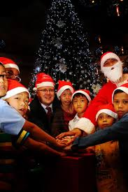 Christmas Decoration Online Malaysia by Lasallian Children Treated To Early Christmas Special U2013 Borneopost
