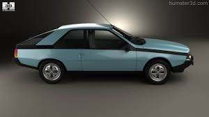 renault car 1980 360 view of renault fuego 1980 3d model hum3d store