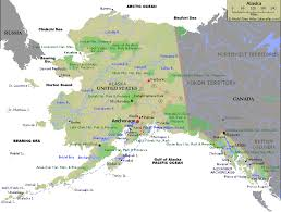 Alaska rivers images Alaska rivers map gif