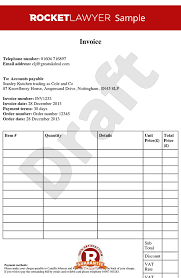 template free invoice template create an invoice template