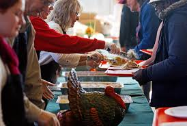 don t volunteer to feed the needy on thanksgiving money