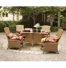 Solana Bay 7 Piece Patio Dining Set by Home Depot Martha Stewart Patio Furniture Sets Trend Home Design