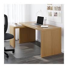 Oak Veneer Computer Desk Oak Veneer Computer Desk Malm Desk With Pull Out Panel Oak Veneer