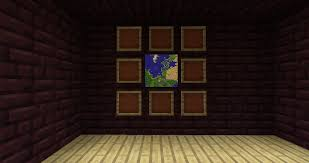 how to make a wall map discussion minecraft java edition