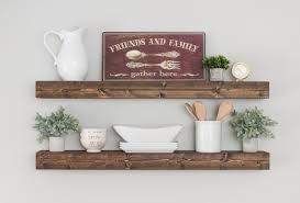 shop for home decor online set of 2 floating shelves shelf farmhouse shelves nursery