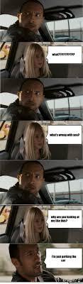 Dwayne Johnson Car Meme - dwayne johnson driving meme