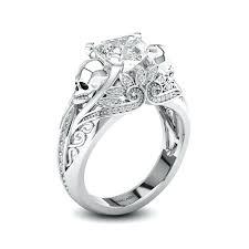 mens skull wedding rings mens skull wedding bands mens diamond skull wedding ring