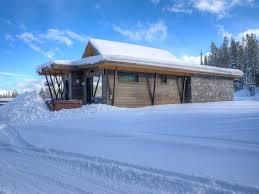 contemporary mountain cabin stunning sunse vrbo