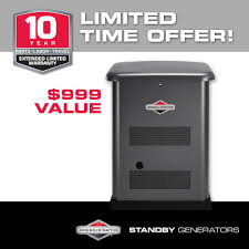 briggs u0026 stratton 12 000 watt automatic air cooled standby