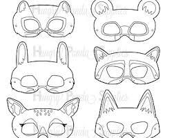 printable lizard mask template super kids printable coloring masks hero mask villain mask
