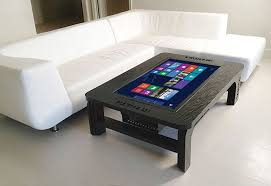 High Coffee Tables The Ultra High Tech Coffee Table Incorporating A Windows 8