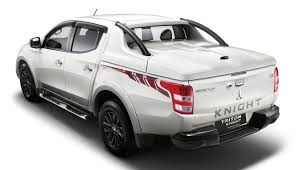 mitsubishi indonesia 2016 mitsubishi triton knight edition rear three quarters indian