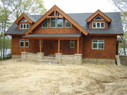 Craftsman Style Architecture Lakeside Timber Frame Home Inspired Craftsman Style Architecture