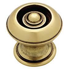 Kitchen Cabinet Hardware Home Depot Martha Stewart Living 1 1 8 In Bedford Nickel Button Cabinet Knob