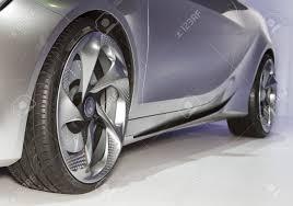 mercedes concept car bangkok april 2 mercedes benz class a concept car wheel on