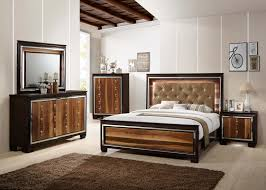 Crown Bedroom Furniture with Led Bedroom Set By Crown Mark