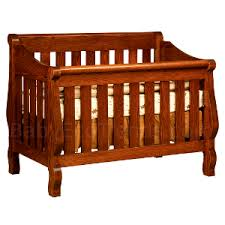 Convertible Sleigh Bed Crib Sleigh 4 In 1 Convertible Baby Crib Made In Usa Baby Eco Trends